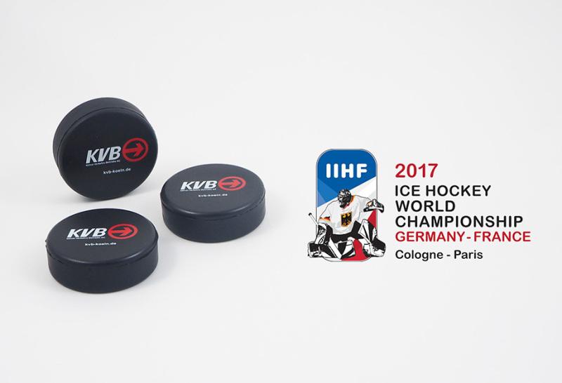 Turnierpucks Eishockey