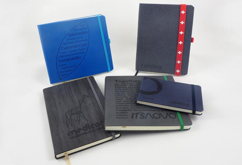 Hochwertige Notizbücher